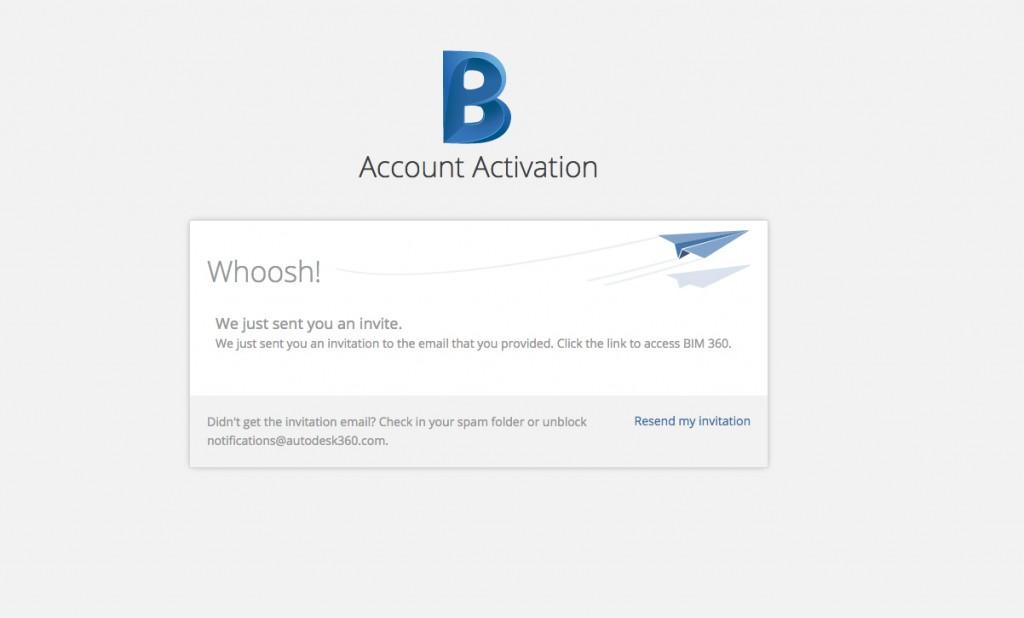 bim 360 account activation
