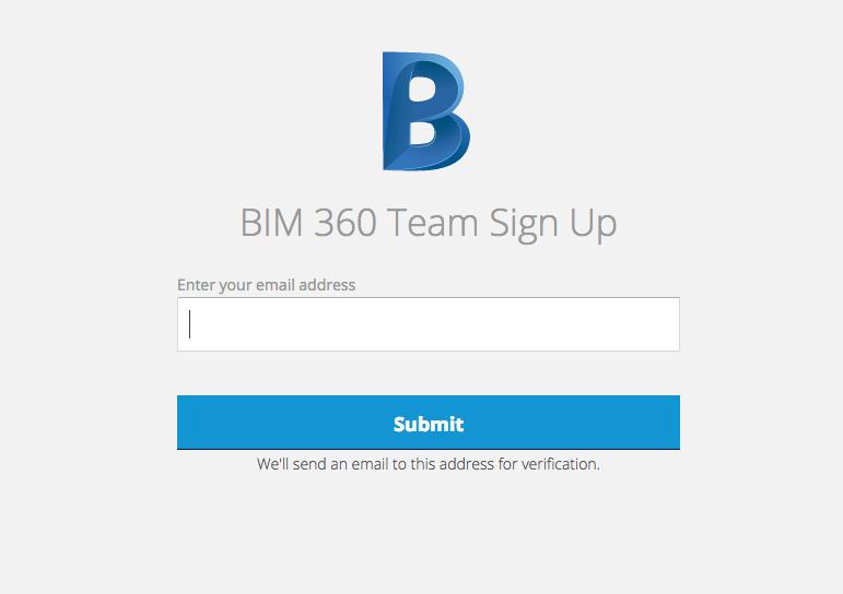 bim 360 sign up