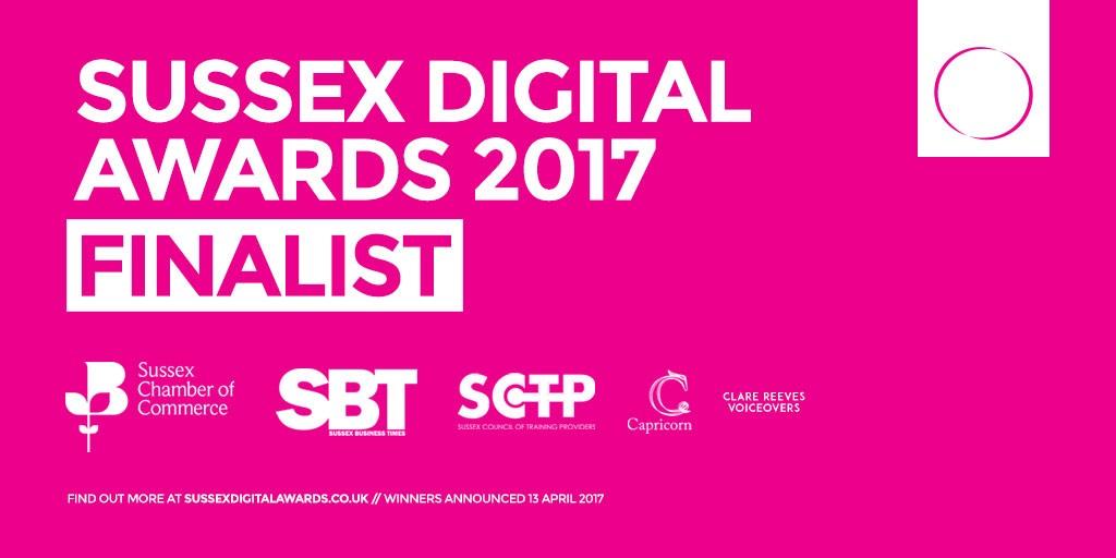 sussex digital awards 2017 finalist