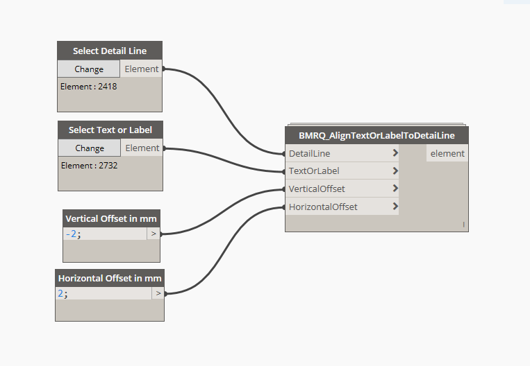Access Text Vertical Alignment : Revit dynamo graph to align text or label with detail