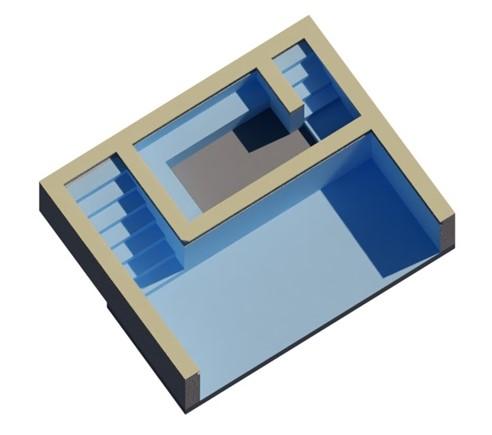 3D Bim Model of a Swimming Pool